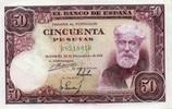 50 Pestas 31.12.1951 Spanien P.141a unc/kassenfrisch  170,00 EUR  +  16,00 EUR shipping