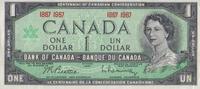 1 Dollar 1967 Canada Pick 84a unc/kassenfrisch  6,50 EUR  zzgl. 3,95 EUR Versand