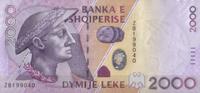 2.000 Leke 2007 Albanien Pick 74 unc/kassenfrisch  30,00 EUR  zzgl. 4,50 EUR Versand