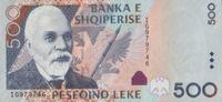 500 Leke 2007 Albanien Pick 72 unc/kassenfrisch  8,00 EUR  zzgl. 3,95 EUR Versand