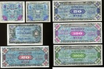 1-1.000 Mark 1944 Alliierte Besatzung *7 Werte Ros.201-207* au/unc  220,00 EUR  zzgl. 4,50 EUR Versand