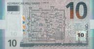 10 Manat 2005 Aserbaidschan Pick 27 unc/kassenfrisch  24,00 EUR  zzgl. 4,50 EUR Versand