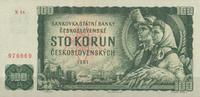 100 Korun 1961 Tschechoslowakei Pick 91b unc/kassenfrisch  16,00 EUR  zzgl. 3,95 EUR Versand