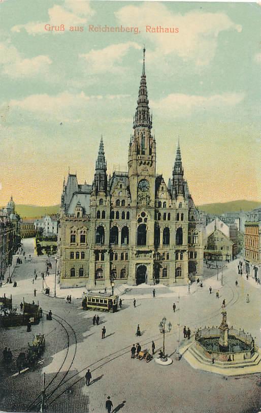 Reichenberg Österreich, Böhmen Ansichtskarte 1912