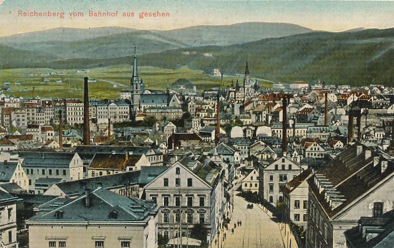 Reichenberg Österreich, Böhmen Ansichtskarte 1910