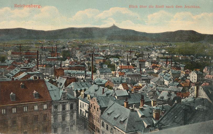 Reichenberg Österreich, Böhmen Ansichtskarte 1913