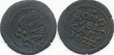 Mst Kamenz Sachsen, Kurfürstentum 3 Kipper Pfennig 1622