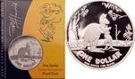 1 Dollar 2007 Australien Känguru mit Jungt...