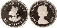 Mauritius 25 Rupees Mauritius, 25 Rupees, Schmetterling, 1975, PP