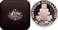 10 Dollars 1986 Australien Wappen von South Australia PP  25,00 EUR  zzgl. 6,90 EUR Versand