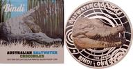 1 Dollar 2013 Australien Salzwasserkrokodil PP, Farbdruck  75,00 EUR  zzgl. 6,90 EUR Versand