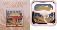 1 Dollar 2013 Australien Australische Jahreszeiten - Sommer PP, Farbdruck  59,00 EUR  zzgl. 6,90 EUR Versand