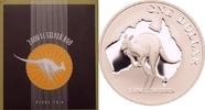 1 dollar 2000 Australien Känguru vor Landkarte PP  69,00 EUR  zzgl. 6,90 EUR Versand