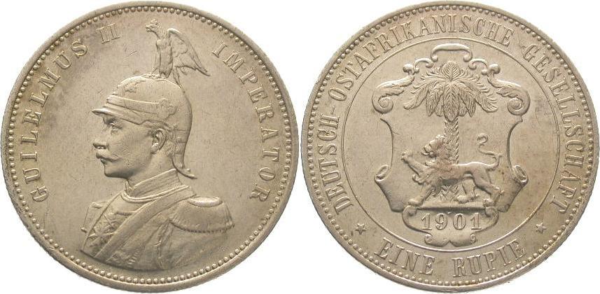Deutsch Ostafrika 1 Rupie 1901