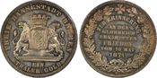 PCGS certified Siegestaler 1871  B Bremen,...