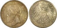 PCGS certified 5 Mark 1899  G Baden Friedr...