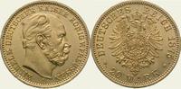 20 Mark Gold 1875  A Preußen Wilhelm I. 1861-1888. Vorzüglich - Stempel... 475,00 EUR  + 5,00 EUR frais d'envoi