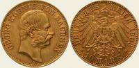 10 Mark Gold 1903  E Sachsen Georg 1902-1904. Vorzüglich  625,00 EUR  + 5,00 EUR frais d'envoi