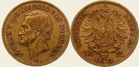 20 Mark Gold 1873  E Sachsen Johann 1854-1873. Vorzüglich  /  vorzüglic... 550,00 EUR  + 5,00 EUR frais d'envoi