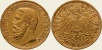 20 Mark Gold 1894  G Baden Friedrich I. 1856-1907. Vorzüglich  475,00 EUR  + 5,00 EUR frais d'envoi