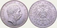 5 Mark 1898  E Sachsen Albert 1873-1902. Fast Stempelglanz  1250,00 EUR  + 5,00 EUR frais d'envoi