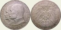 5 Mark 1904 Hessen Ernst Ludwig 1892-1918. Vorzüglich - Stempelglanz  200,00 EUR  + 5,00 EUR frais d'envoi