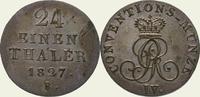 1/24 Taler 1827  B Braunschweig-Calenberg-Hannover Georg IV. 1820-1830.... 40,00 EUR  + 5,00 EUR frais d'envoi