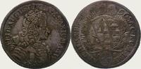 1/3 Taler 1696 Sachsen-Albertinische Linie Friedrich August I. 1694-173... 375,00 EUR  + 5,00 EUR frais d'envoi