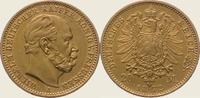 20 Mark Gold 1872  A Preußen Wilhelm I. 1861-1888. Vorzüglich  350,00 EUR  + 5,00 EUR frais d'envoi