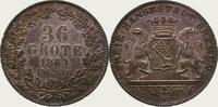 36 Grote 1864 Bremen, Stadt  Feine Tönung, vorzüglich - Stempelglanz  175,00 EUR  + 5,00 EUR frais d'envoi
