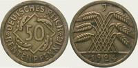 50 Rentenpfennig 1924  J Weimarer Republik  Zaponiert. Vorzüglich  20,00 EUR  + 5,00 EUR frais d'envoi