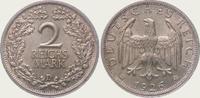 2 Mark 1926  D Weimarer Republik  Fast Stempelglanz  55,00 EUR  + 5,00 EUR frais d'envoi