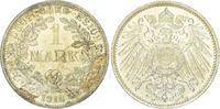 1 Mark 1916  F Kleinmünzen  Fast Stempelglanz  60,00 EUR  + 5,00 EUR frais d'envoi