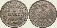 1 Mark 1902  D Kleinmünzen  Stempelglanz  60,00 EUR  + 5,00 EUR frais d'envoi