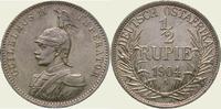 1/2 Rupie 1904  A Deutsch Ostafrika  Vorzüglich - Stempelglanz  360,00 EUR  + 5,00 EUR frais d'envoi