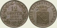 12 Grote 1859 Bremen, Stadt  Fast Stempelglanz  85,00 EUR  + 5,00 EUR frais d'envoi