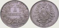 1 Mark 1875  H Kleinmünzen  Vorzüglich  125,00 EUR  + 5,00 EUR frais d'envoi