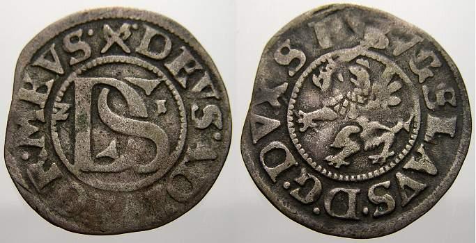 Doppelschilling 1621 Pommern-Stettin Bogislaw XIV. 1620-1625. Sehr schön