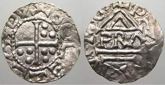 Böhmen Denar 929-967 n. Chr. Unediert. Seh...