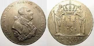 Taler 1795 A Brandenburg-Preußen Friedrich...