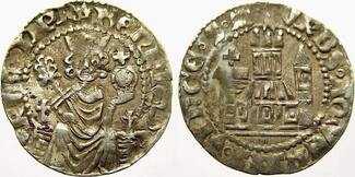 pfennig 1308-1313 Aachen Heinrich von Luxe...