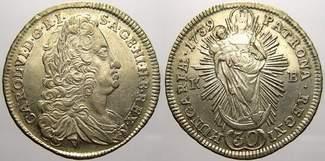 30 Kreuzer 1739  K Haus Habsburg Karl VI. ...