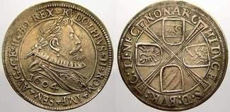 6 Kreuzer 1604 Haus Habsburg Rudolf II. 15...