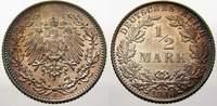 1/2 Mark 1913  E Kleinmünzen  Feinstes stempelglanz mit schöner Patina  3571 руб 40,00 EUR