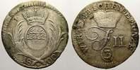3 Kreuzer 1800 Württemberg Friedrich II. 1797-1805. Sehr schön  3571 руб 40,00 EUR