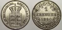 1 Kreuzer 1864 Württemberg Wilhelm I. 1816-1864. Fast stempelglanz  2232 руб 25,00 EUR