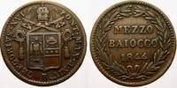 Mezzo Baiocco 1844  B Italien-Kirchenstaat Gregorio XVI. 1831-1846. Fas... 3124 руб 35,00 EUR