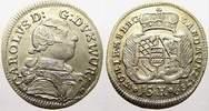 15 Kreuzer 1759 Württemberg Karl Eugen 1744-1793. Kl. Schrötlingsfehler... 9820 руб 110,00 EUR