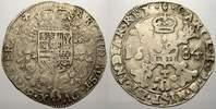 1/2 Patagon 1684 Belgien-Brabant Karl II. 1665-1700. Selten. Sehr schön  35261 руб 395,00 EUR