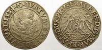 Groschen 1534 Preußen, Herzogtum (Ostpreußen) Albrecht von Brandenburg ... 4463 руб 50,00 EUR